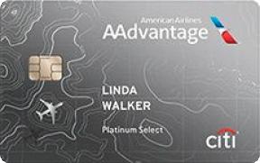Citi® / AAdvantage® Platinum Select® World Elite™ Mastercard® photo
