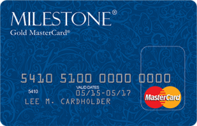 Milestone® Gold MasterCard® photo