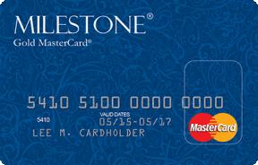 Milestone® Gold MasterCard® photo
