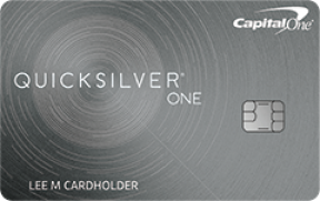 Capital One® QuicksilverOne® Rewards photo