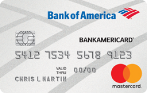 BankAmericard® Credit Card photo