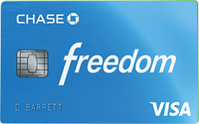 Chase Freedom® credit card photo