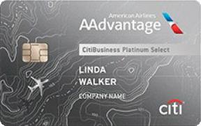 CitiBusiness® / AAdvantage® Platinum Select® World Mastercard® photo