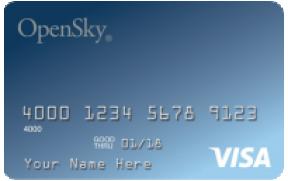 OpenSky® Secured Visa® Credit Card photo