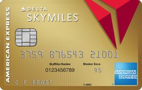 Gold Delta SkyMiles® Credit Card photo