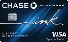 Ink Business Preferred℠ credit card photo