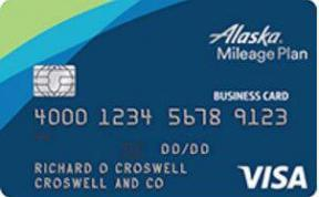 Alaska Airlines Business Card photo