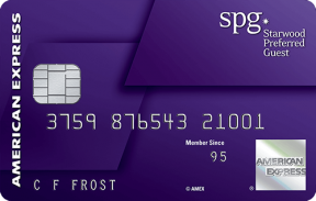 The Starwood Preferred Guest® Credit Card from American Express photo