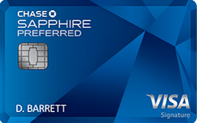 Chase Sapphire Preferred® credit card photo