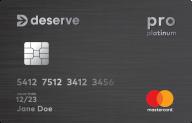 Deserve® Pro Mastercard photo