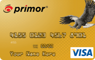 primor® Secured Visa Gold Card photo