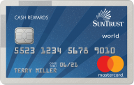 SunTrust Cash Rewards Credit Card photo