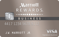 Marriott Rewards® Premier Business credit card photo