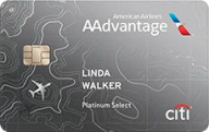 Citi® / AAdvantage® Platinum Select® World Elite™ Mastercard® photo