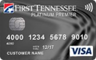 First Tennessee Platinum Premier® Visa® photo