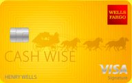 Wells Fargo Cash Wise Visa® Card photo