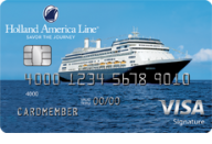 Holland America Line Rewards Visa® Card from Barclaycard photo