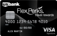 U.S. Bank FlexPerks® Travel Rewards Visa Signature® Card photo