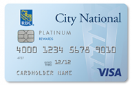 City National Visa® Platinum Credit Card photo
