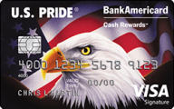 U.S. Pride® BankAmericard Cash Rewards™ Visa® Card photo