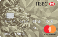 HSBC Gold Mastercard® credit card photo