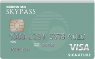 SKYPASS Visa Signature® Card photo