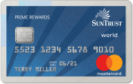 SunTrust Prime Rewards Credit Card photo