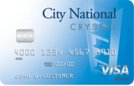 City National Crystal® Visa Infinite® Credit Card photo