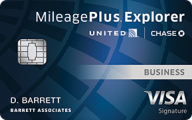 United MileagePlus® Explorer Business card photo