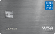 The World of Hyatt Credit Card photo
