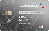 CitiBusiness® / AAdvantage® Platinum Select® World Mastercard® photo