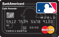 MLB™ Cash Rewards Mastercard® from Bank of America photo