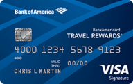 Bank of America® Travel Rewards credit card photo