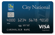 City National Visa Signature® Credit Card photo