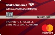 Business Advantage Cash Rewards Mastercard® credit card photo