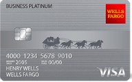 Wells Fargo Business Platinum Credit Card photo