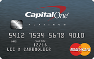 Platinum Credit Card From Capital One photo