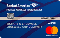 Business Advantage Travel Rewards World Mastercard® credit card photo