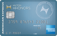 Hilton Honors Card photo