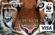 World Wildlife Fund Credit Card from Bank of America photo