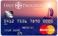 First Progress Platinum Elite MasterCard® Secured Credit Card photo