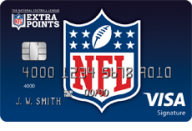 NFL Extra Points Credit Card from Barclaycard photo
