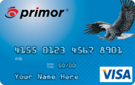 primor® Secured Visa Classic Card photo