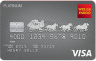 Wells Fargo Platinum Visa® Credit Card photo