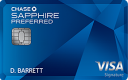 Chase Sapphire Preferred® credit card}
